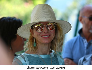 Venice, Italy. 28 August, 2018. Naomi Watts arrive at the Hotel Excelsior during the 75th Venice Film Festival