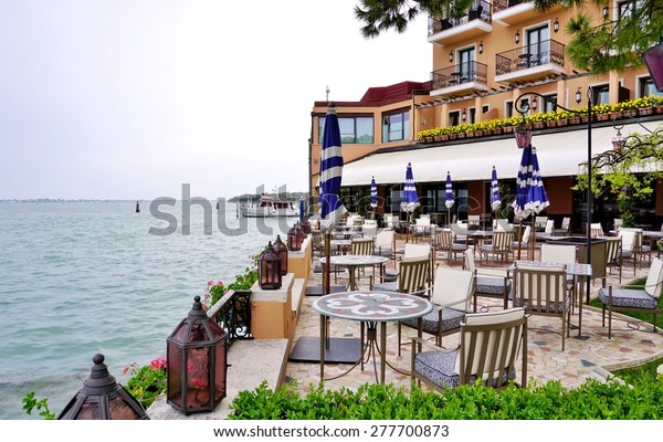 VENICE, ITALY -29 APRIL 2015- Opened in 1958, the Belmond Hotel Cipriani, on the Giudecca in Venice, is one of the most expensive hotels in the world. George and Amal Clooney were married there.