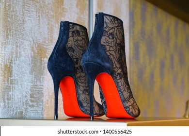 new arrivals d9059 13f83 Christian Louboutin Shoes Images, Stock Photos & Vectors ...