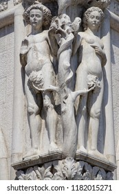 VENICE, ITALY - AUG 10, 2018 - 