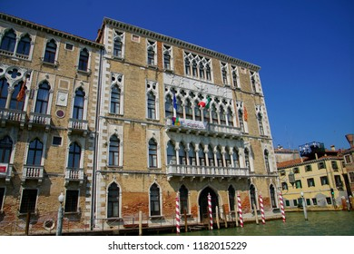 VENICE, ITALY - AUG 12, 2018 - 