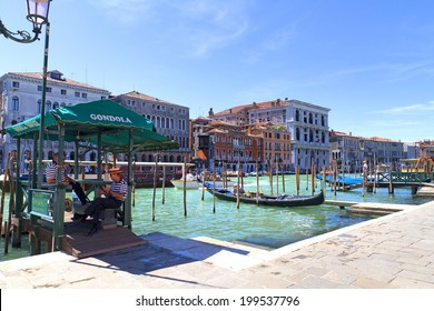 VENICE, ITALY, August 10, 2011: Beautiful view of Venice, Italy