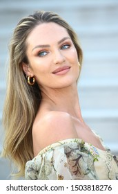 VENICE, ITALY - AUGUST 27: Candice Swanepoel attends a photocall at the 76th Venice Film Festival on August 27, 2019 in Venice, Italy.
