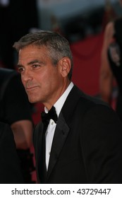 VENICE, ITALY - AUGUST 27: George Clooney attends the Opening Ceremony of the 65th Venice Film Festival and the 'Burn After Reading' premiere on August 27, 2008 in Venice, Italy