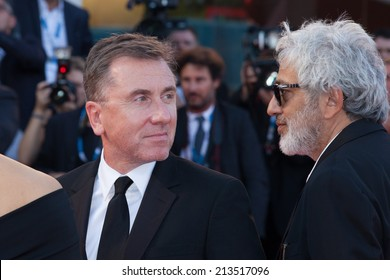 VENICE, ITALY - AUGUST 27: Venezia 71 Jury Members  attends the Opening Ceremony and 'Birdman' premiere during the 71st Venice Film Festival at Palazzo Del Cinema on August 27, 2014 in Venice, Italy.