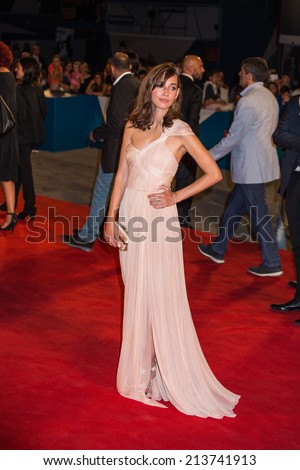 53ff14710 VENICE, ITALY - AUGUST 28: Rebecca Dayan attends the 'The Look Of Silence'  premiere during the 71st Venice Film Festival on August 28, 2014 in Venice,  ...