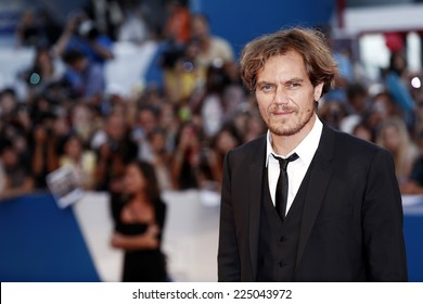 VENICE, ITALY - AUGUST 29: Michael Shannon attends the '99 Homes' Premiere during the 71st Venice Film Festival on August 29, 2014 in Venice, Italy.