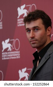 VENICE, ITALY - AUGUST 30: Actor James Deen attends 'The Canyons' Photocall during The 70th Venice International Film Festival at Palazzo Del Casino on August 30, 2013 in Venice, Italy.