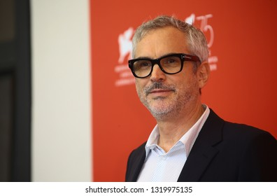 VENICE, ITALY - AUGUST 30: Alfonso Cuaron attends 'Roma' photocall during the 75th Venice Film Festival at Sala Casino on August 30, 2018 in Venice, Italy.