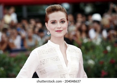 VENICE, ITALY - AUGUST 31: Actress Evan Rachel Wood attends 'The Ides Of March' premiere during the 68th Venice Film Festival on August 31, 2011 in Venice, Italy