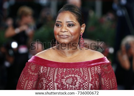 VENICE, ITALY - AUGUST 31: Octavia Spencer attends the premiere of 'The Shape of Water' during the 74th Venice Film Festival on August 31, 2017 in Venice, Italy.