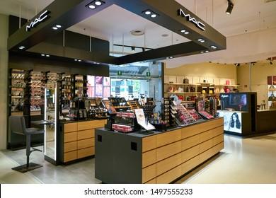 "VENICE, ITALY - CIRCA MAY, 2019: interior shot of ""Coin"" department store."
