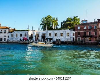 VENICE, ITALY - CIRCA SEPTEMBER 2016: HDR Peggy Guggenheim museum