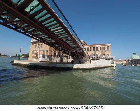 Venice Italy Circa September 2016 Ponte Stock Photo Edit Now