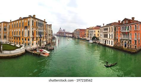VENICE, ITALY, January 1, 2011: Beautiful view of Venice, Italy