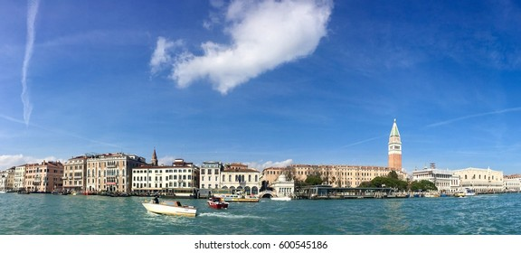 VENICE, ITALY - MARCH 2, 2017: the Grand Canal