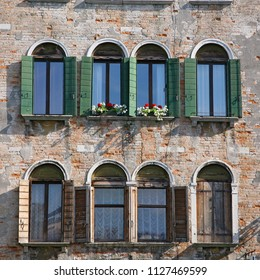 VENICE, ITALY - MAY 7, 2010: View of the marvelous architecture along the Grand Canal in Venice, Italy