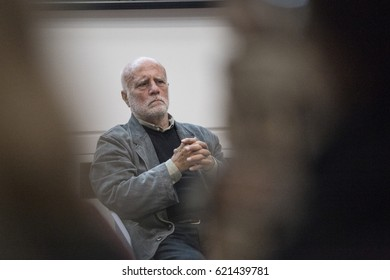 Venice, Italy, october 14, 2016 , Magnum Photographer Ferdinando Scianna, meeting at CFZ Cultural flow zone