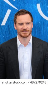 VENICE, ITALY - SEPTEMBER 01: Actor Michael Fassbender  during the 73th Venice Film Festival 2016 in Venice, Italy