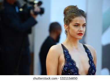 VENICE, ITALY - SEPTEMBER 01:  Barbara Palvin walks the red carpet ahead of the 'Suspiria' screening during the 75th Venice Film Festival on September 1, 2018 in Venice, Italy.
