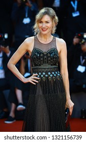 VENICE, ITALY - SEPTEMBER 01:  Naomi Watts walks the red carpet ahead of the 'Suspiria' screening during the 75th Venice Film Festival on September 1, 2018 in Venice, Italy.