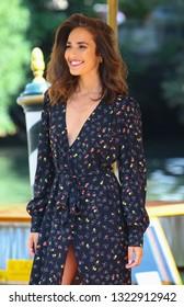 VENICE, ITALY - SEPTEMBER 02: Ana Moya Calzado is seen during the 75th Venice Film Festival on September 2, 2018 in Venice, Italy
