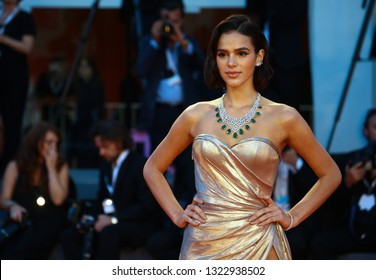 VENICE, ITALY - SEPTEMBER 02: Bruna Marquezine walks the red carpet ahead of the 'The Sisters Brothers' screening during the 75th Venice Film Festival on September 2, 2018 in Venice, Italy