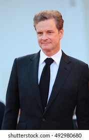 VENICE, ITALY - SEPTEMBER 02: Colin Firth during the 73th Venice Film Festival 2016 in Venice, Italy