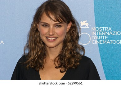 VENICE, ITALY - SEPTEMBER 02: Director Natalie Portman attends the Eve photocall at the Piazzale del Casino during the 65th Venice Film Festival on September 2, 2008 in Venice, Italy.