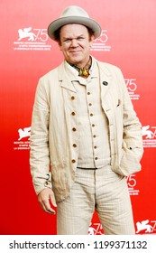 VENICE, ITALY - SEPTEMBER 02: John C. Reilly attends 'The Sisters Brothers' photo-call during the 75th Venice Film Festival on September 2, 2018 in Venice, Italy