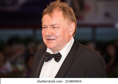 VENICE, ITALY - SEPTEMBER 02: Roy Andersson attends the 'A Pigeon Sat On A Branch Reflecting On Existence' - Premiere during the 71st Venice Film Festival on September 2, 2014 in Venice, Italy.