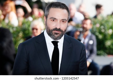 VENICE, ITALY - SEPTEMBER 02: Saverio Costanzo walks the red carpet of the movie  'My Brilliant Friend' during the 75th Venice Film Festival on September 2, 2018 in Venice, Italy.