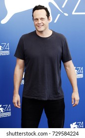 VENICE, ITALY - SEPTEMBER 02: Vince Vaughn attends the 'Brawl In Cell Block 99' photo-call during the 74th Venice Film Festival on September 2, 2017 in Venice, Italy.