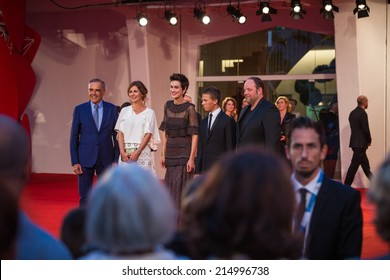 VENICE, ITALY - SEPTEMBER 03: Actress Clotilde Hesme attends the 'Le Dernier Coup De Marteau' premiere during the 71st Venice Film Festival on September 3, 2014 in Venice, Italy.