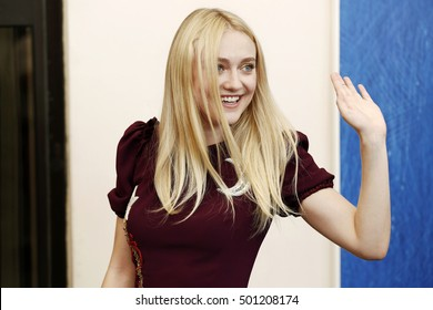 VENICE, ITALY - SEPTEMBER 03: Actress Dakota Fanning attends the photo-call of 'Brimstone' during the 73rd Venice Film Festival on September 3, 2016 in Venice, Italy.