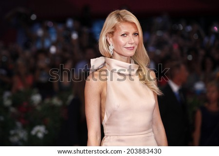 VENICE, ITALY - SEPTEMBER 03  : Actress Gwyneth Paltrow attends the premiere of  'Contagion' during the 68th Venice Film Festival on September 3, 2011