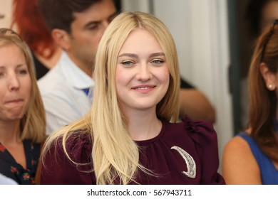 VENICE, ITALY - SEPTEMBER 03: Dakota Fanning attends the photocall of 'Brimstone' during the 73rd Venice Film Festival at Palazzo del Casino on September 3, 2016 in Venice, Italy.
