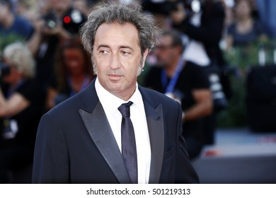 VENICE, ITALY - SEPTEMBER 03: Director Paolo Sorrentino attends the premiere of 'The Young Pope' during the 73rd Venice Film Festival on September 3, 2016 in Venice, Italy.
