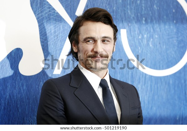 VENICE, ITALY - SEPTEMBER 03: James Franco attends the photo-call of 'In Dubious Battle' during the 73rd Venice Film Festival on September 3, 2016 in Venice, Italy.
