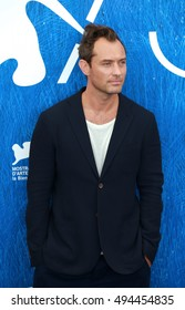 VENICE, ITALY - SEPTEMBER 03: Jude Law during the 73th Venice Film Festival 2016 in Venice, Italy