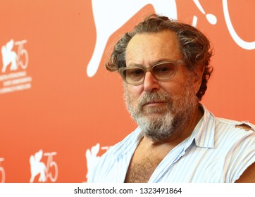 VENICE, ITALY - SEPTEMBER 03:  Julian Schnabel attends 'At Eternity's Gate' photocall during the 75th Venice Film Festival on September 3, 2018 in Venice, Italy.
