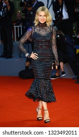 VENICE, ITALY - SEPTEMBER 03: Naomi Watts  walks the red carpet ahead of the 'At Eternity's Gate' screening during the 75th Venice Film Festival on September 3, 2018 in Venice, Italy