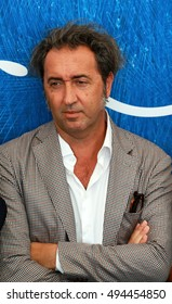 VENICE, ITALY - SEPTEMBER 03: Paolo Sorrentino during the 73th Venice Film Festival 2016 in Venice, Italy