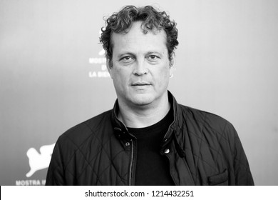 VENICE, ITALY - SEPTEMBER 03: Vince Vaughn attends the photo-call of the movie 'Dragged Across Concrete' during the 75th Venice Film Festival  on September 3, 2018 in Venice, Italy.