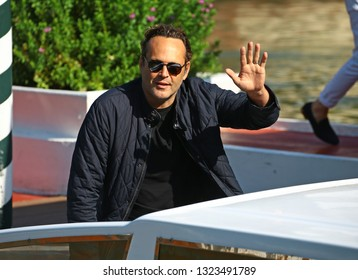 VENICE, ITALY - SEPTEMBER 03:  Vince Vaughn is seen during the 75th Venice Film Festival on September 3, 2018 in Venice, Italy.