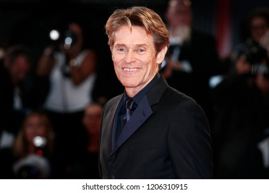VENICE, ITALY - SEPTEMBER 03: Willem Dafoe walks the red carpet of the movie 'At Eternity's Gate' during the 75th Venice Film Festival on September 3, 2018 in Venice, Italy.