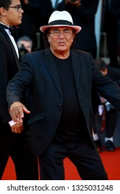 VENICE, ITALY - SEPTEMBER 04: Al Bano Carrisi walks the red carpet ahead of the 'Vox Lux' screening during the 75th Venice Film Festival on September 4, 2018 in Venice, Italy