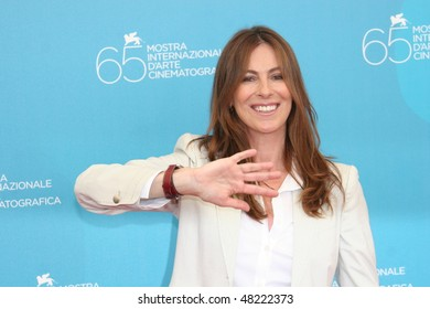 VENICE, ITALY - SEPTEMBER 04: Director Kathryn Bigelow attends the 'Hurt Locker' photocall at the Piazzale del Casino during the 65th Venice Film Festival on September 4, 2008 in Venice, Italy