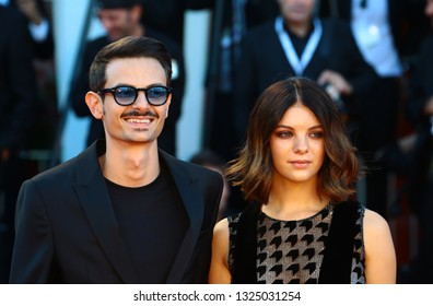 VENICE, ITALY - SEPTEMBER 04:  Fabio Rovazzi walks the red carpet ahead of the 'Vox Lux' screening during the 75th Venice Film Festival on September 4, 2018 in Venice, Italy