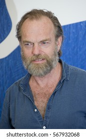 VENICE, ITALY - SEPTEMBER 04: Hugo Weaving attends a photocall for 'Hacksaw Ridge' during the 73rd Venice Film Festival at Palazzo del Casino on September 4, 2016 in Venice, Italy